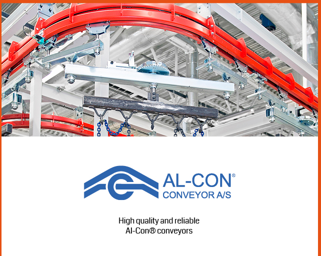 Al-Con-conveyor systems for painting plant needs