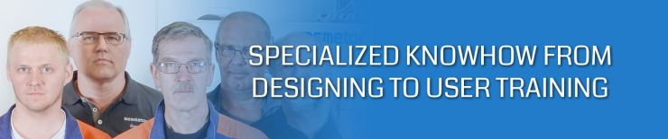 Surface treatment technology's specialized services from designing to user training